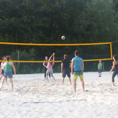 Beach Volleyball Ausflug Lighthouse Steuerberatung Team